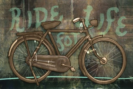 Ride for Life by Posters International Studio art print