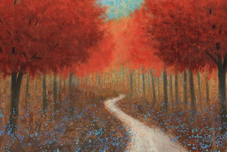 Forest Pathway by James Wiens art print