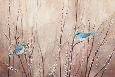 Pretty Birds by Julia Purinton art print
