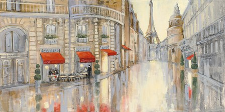 Touring Paris Crop by Julia Purinton art print