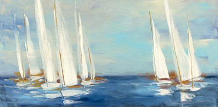 Summer Regatta by Julia Purinton art print