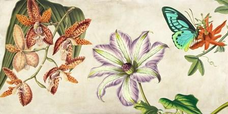 Panneau Botanique I by Remy Dellal art print