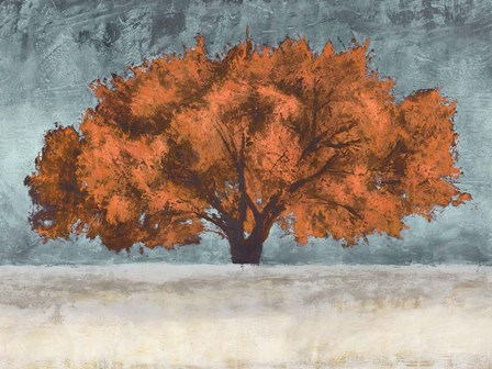 Orange Oak by Jan Eelder art print