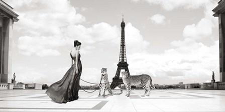 Trocadero View by Julian Lauren art print