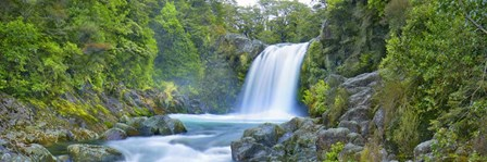 Tawhai Falls, New Zealand (detail) by Frank Krahmer art print