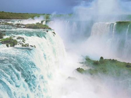 Iguazu Falls, Brazil by Frank Krahmer art print
