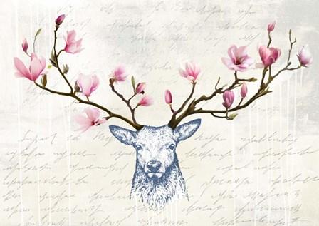 King of the Wilderness by Matt Spencer art print