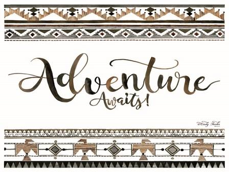 Adventure Awaits by Cindy Jacobs art print