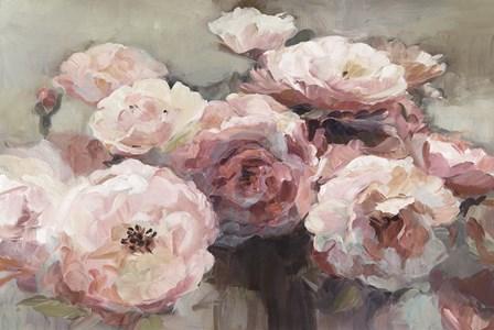 Wild Roses Neutral by Marilyn Hageman art print