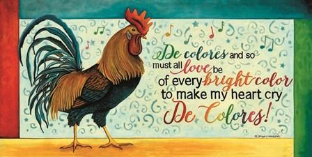 De Colores by Tonya Crawford art print