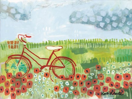 The Scenic Route by Kait Roberts art print